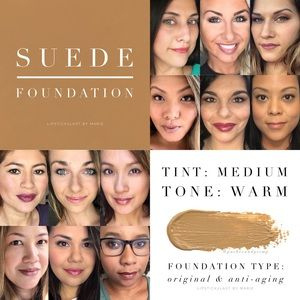 NWT. Suede Foundation Tester Size